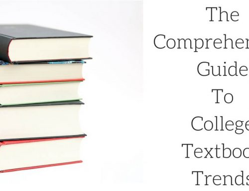 The Comprehensive Guide To College Textbook Trends [Infographic]
