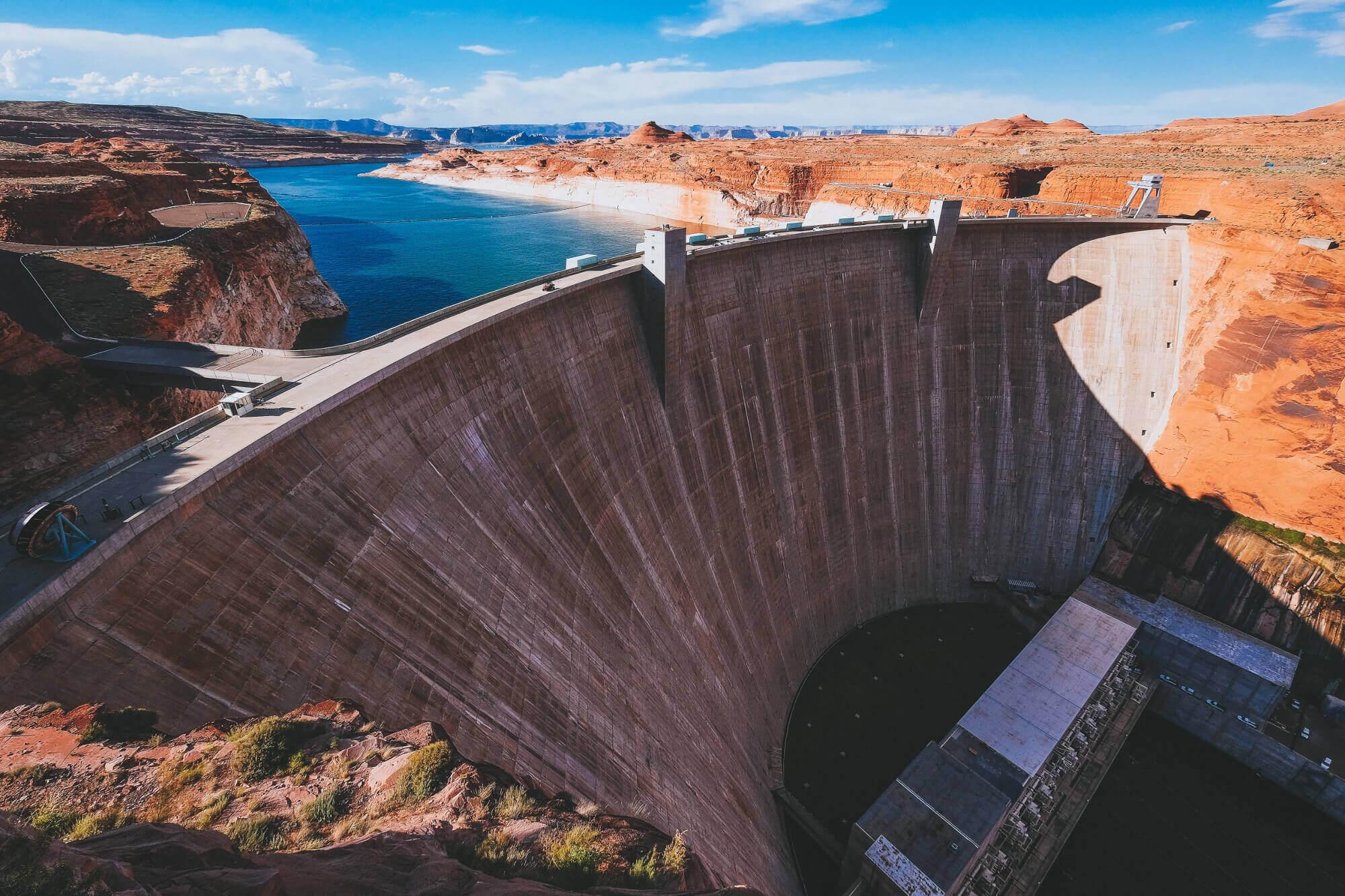 a dam